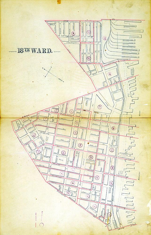 Atlas of the City of Philadelphia by Wards, Ward 18