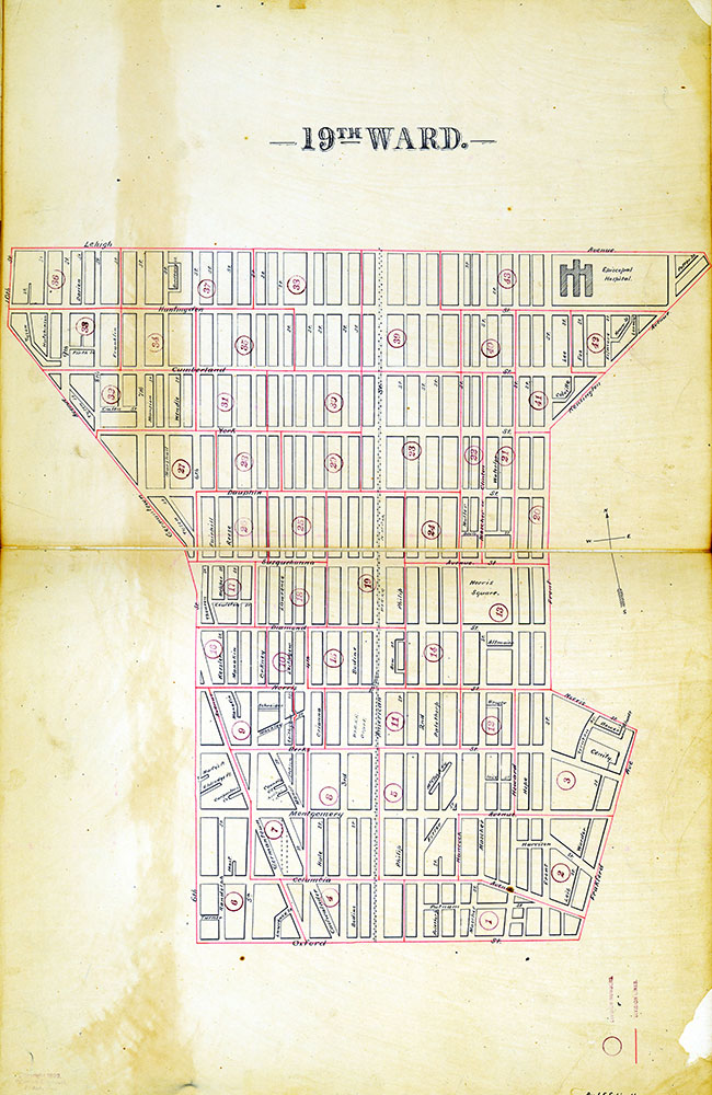 Atlas of the City of Philadelphia by Wards, Ward 19