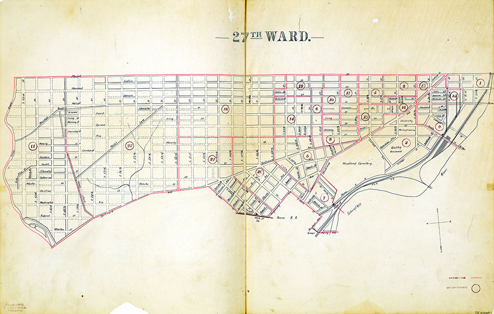 Atlas of the City of Philadelphia by Wards, Ward 27