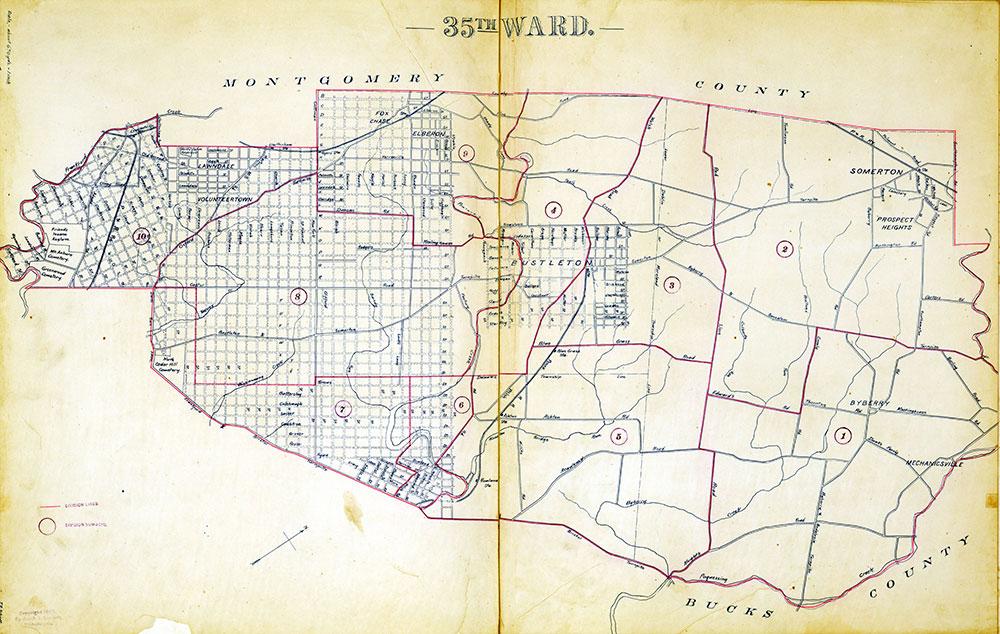 Atlas of the City of Philadelphia by Wards, Ward 35