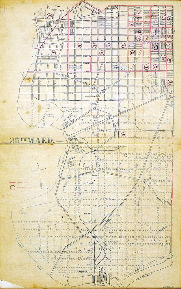 Atlas of the City of Philadelphia by Wards, Ward 36