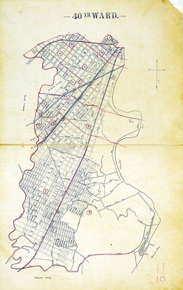 Atlas of the City of Philadelphia by Wards, Ward 40