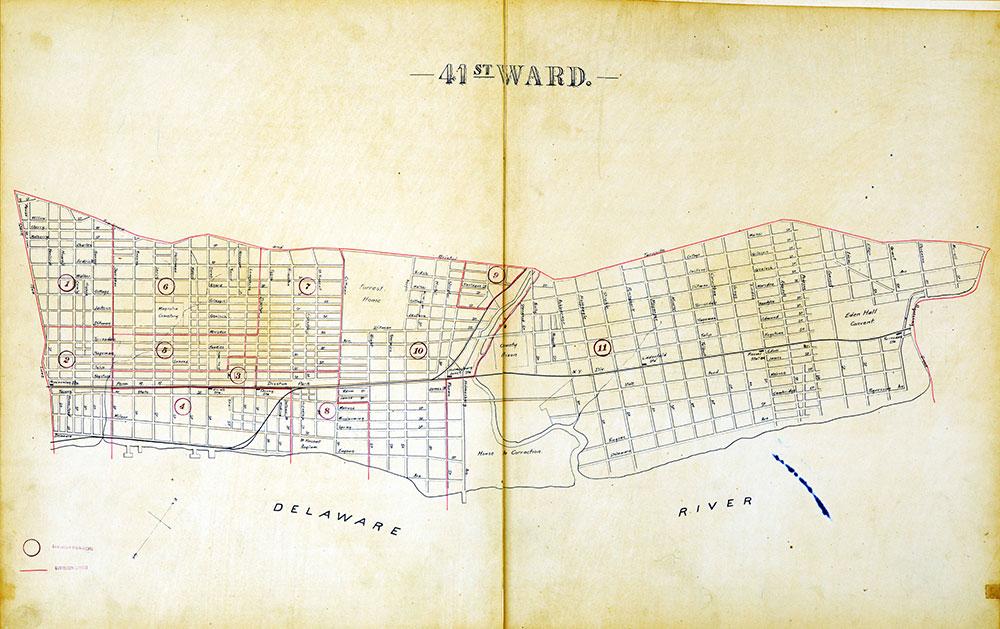 Atlas of the City of Philadelphia by Wards, Ward 41