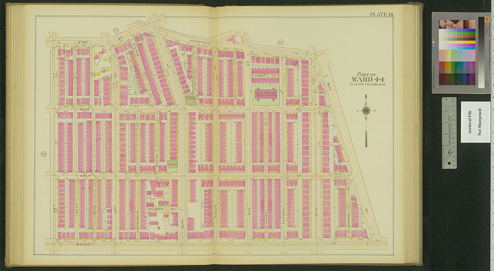 Atlas of the 24th, 34th & 44th Wards of the City of Philadelphia, 1911-1912, Plate 16