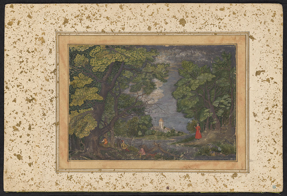 Painting of a European Lanscape