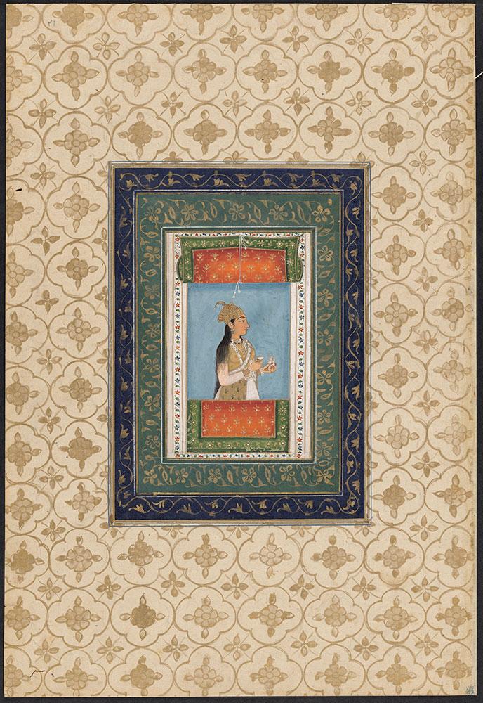 Portrait of Nur Jahan