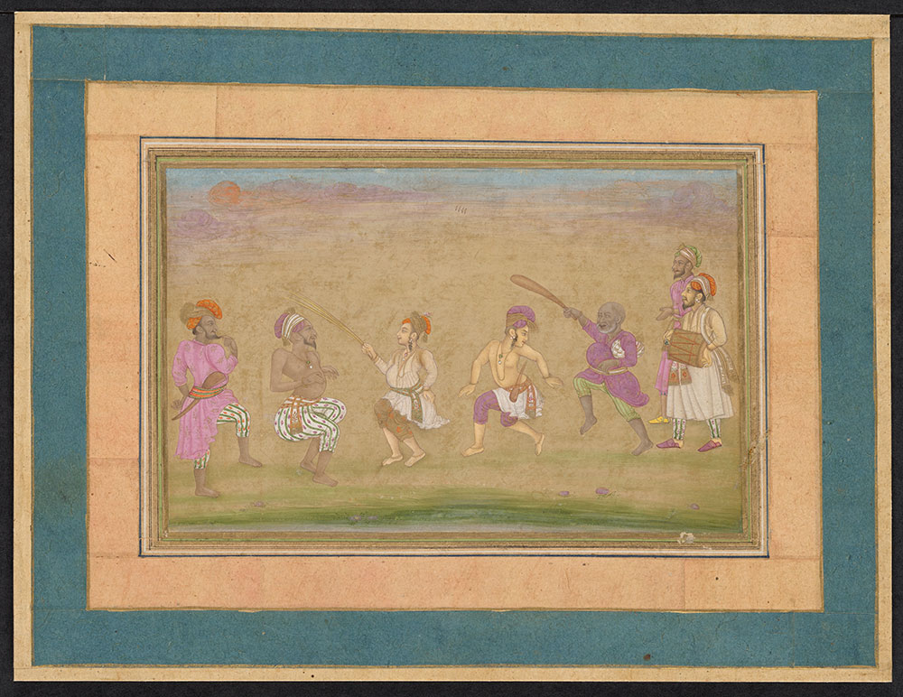 Painting of a Group of Dancers