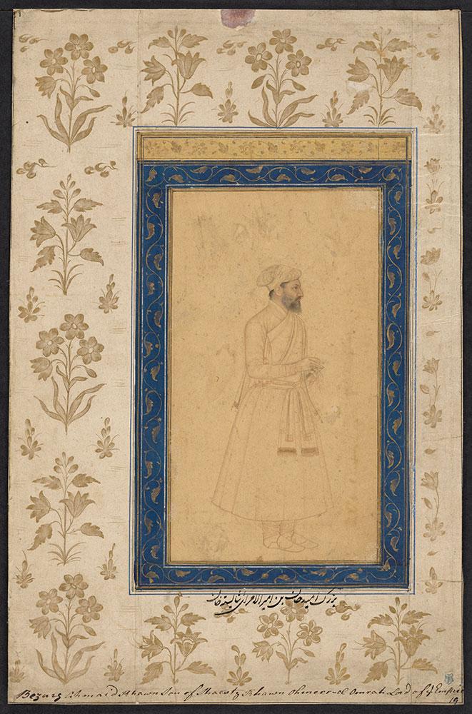 Portrait of Bujurg Umid Khan