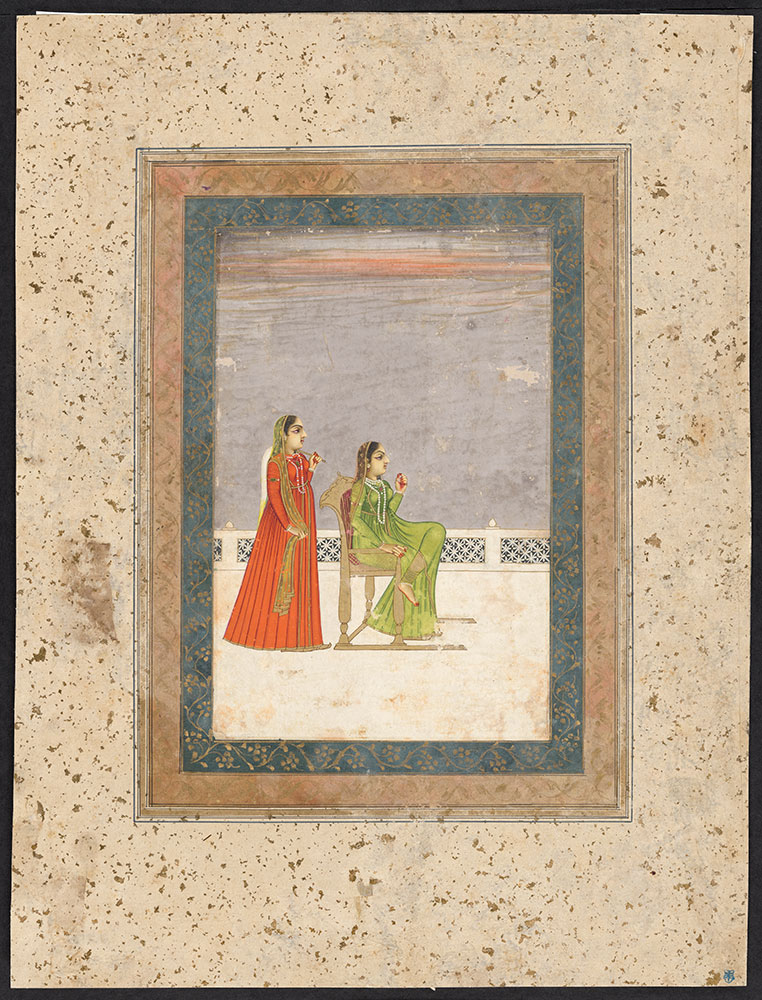 Portrait of a Princess with Her Attendant