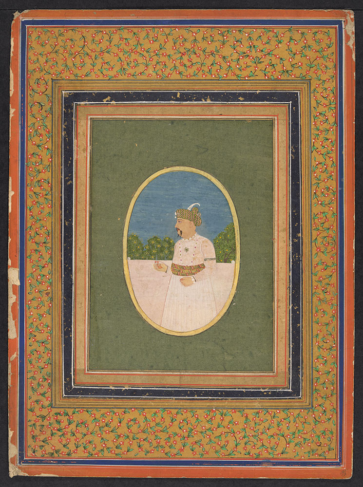 Oval Portrait of Shuja ud-Dawlah