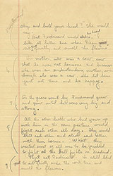 Manuscript for The Story of Ferdinand, page 2