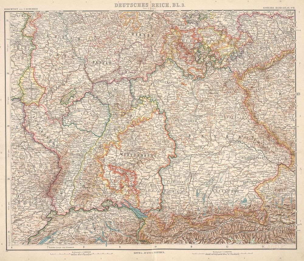 Stielers Hand-Atlas, 11