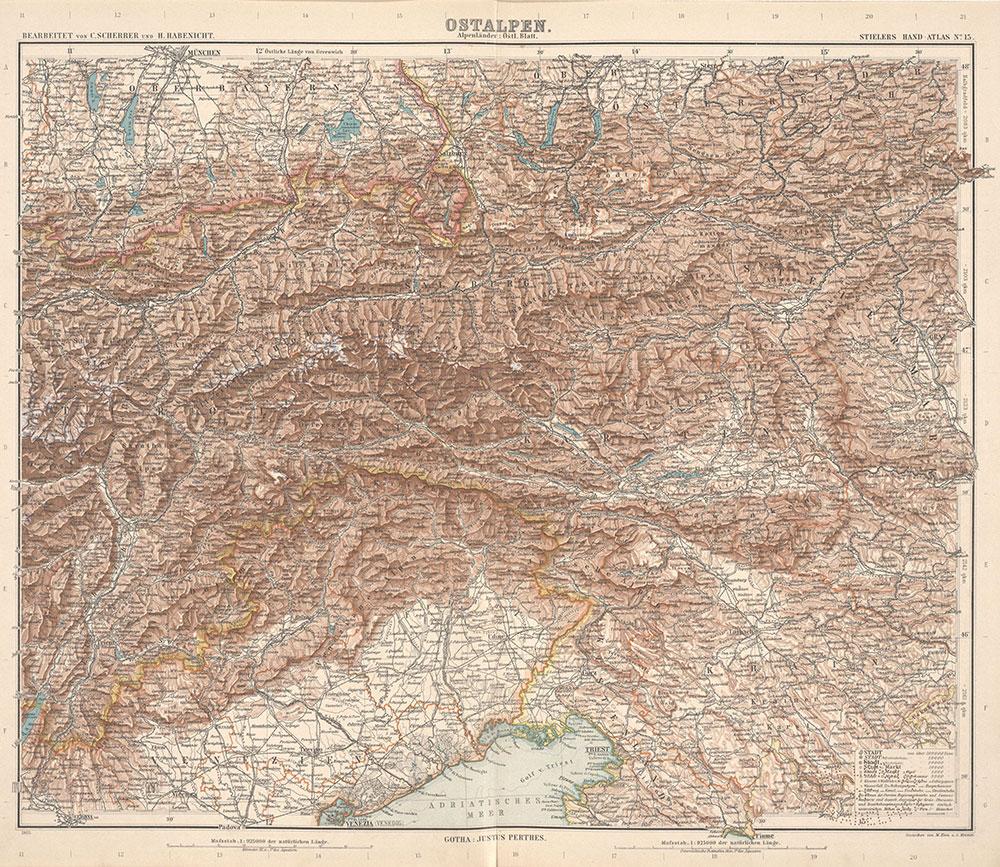 Stielers Hand-Atlas, 15