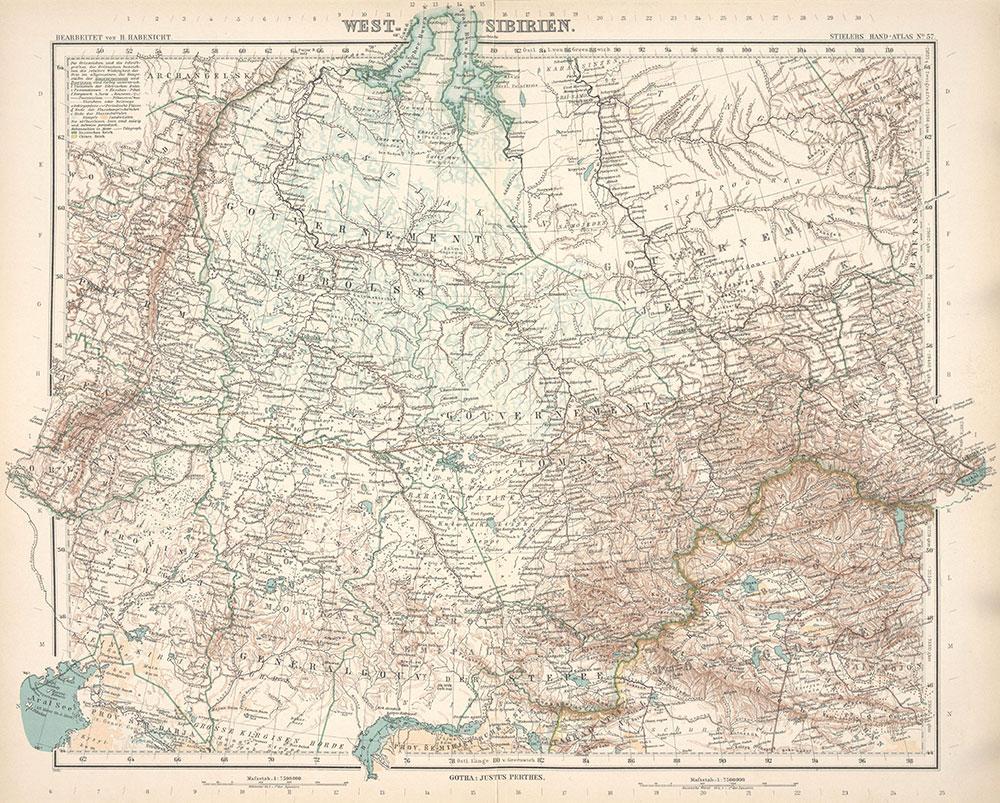 Stielers Hand-Atlas, 57