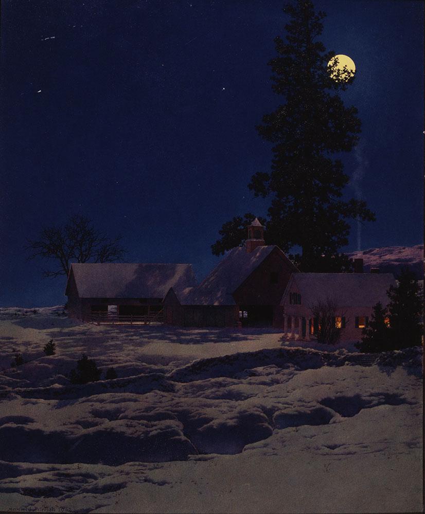 Moonlight Night: Winter