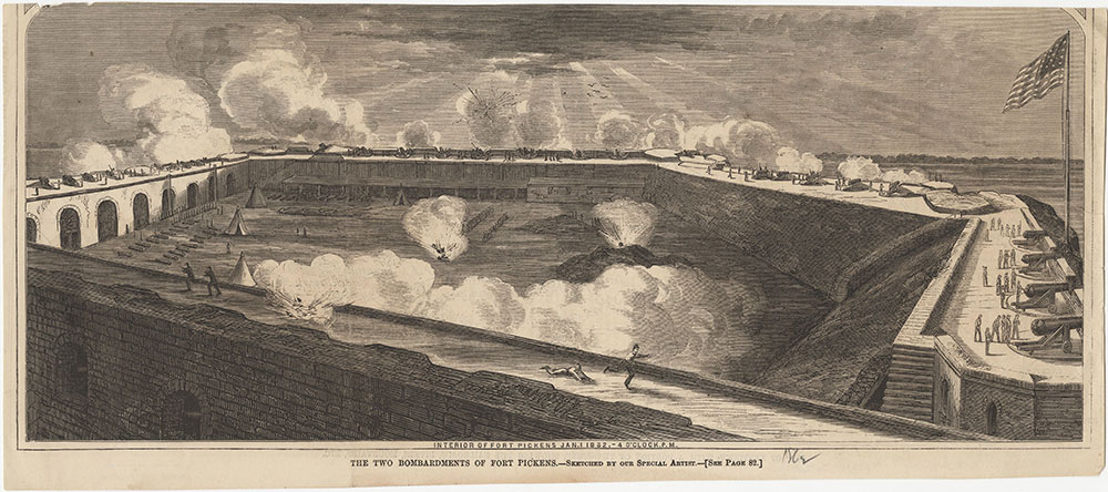 The Two Bombardments of Fort Pickens