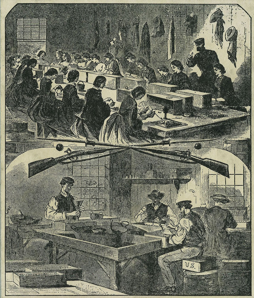 Filling Cartidges at the United States Arsenal