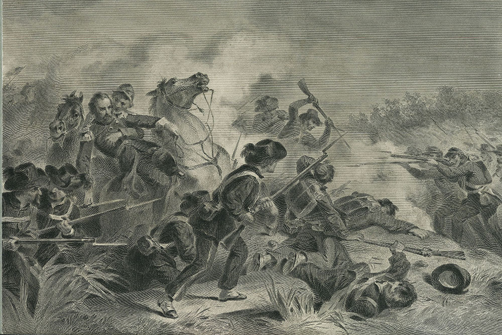 Battle at Wilson's Creek, MO.