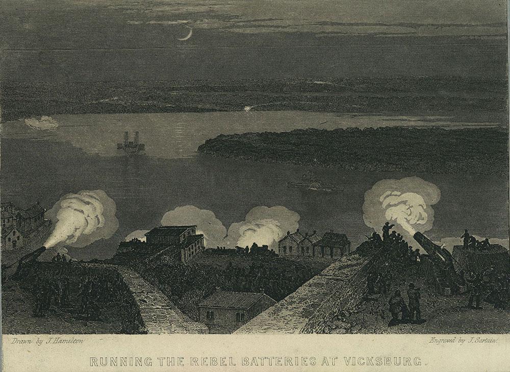 Running the Rebel Batteries at Vicksburg