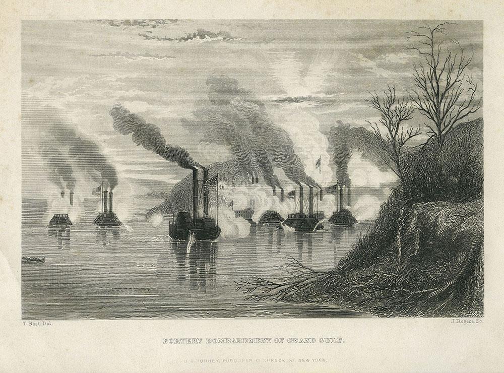 Porter's Bombardment of Grand Gulf