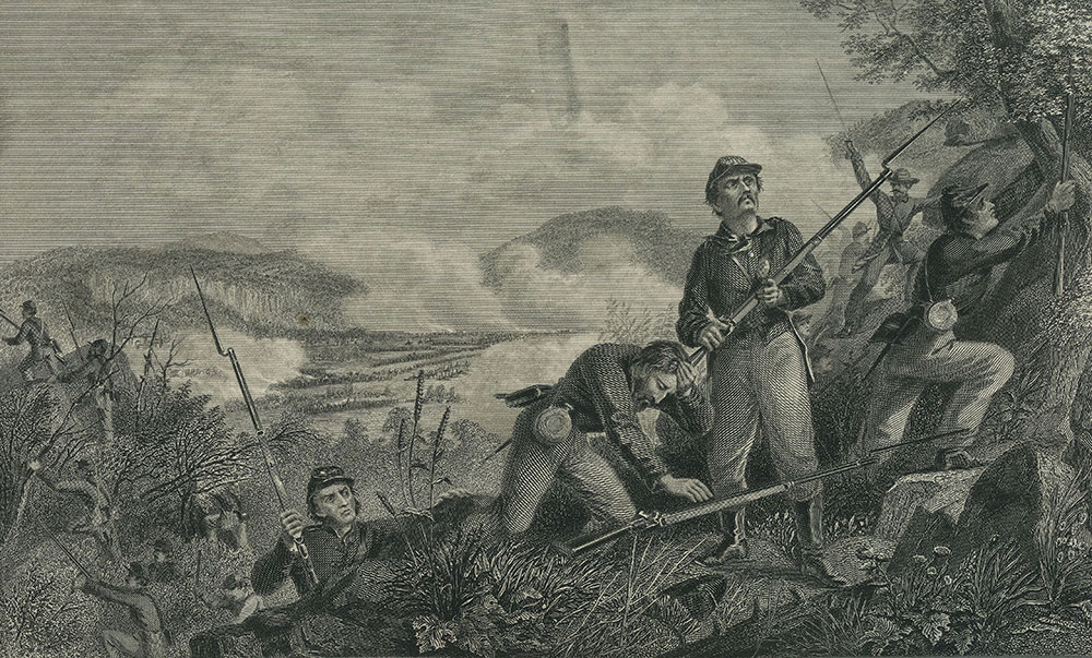 Battle of Lookout Mountain, GA.