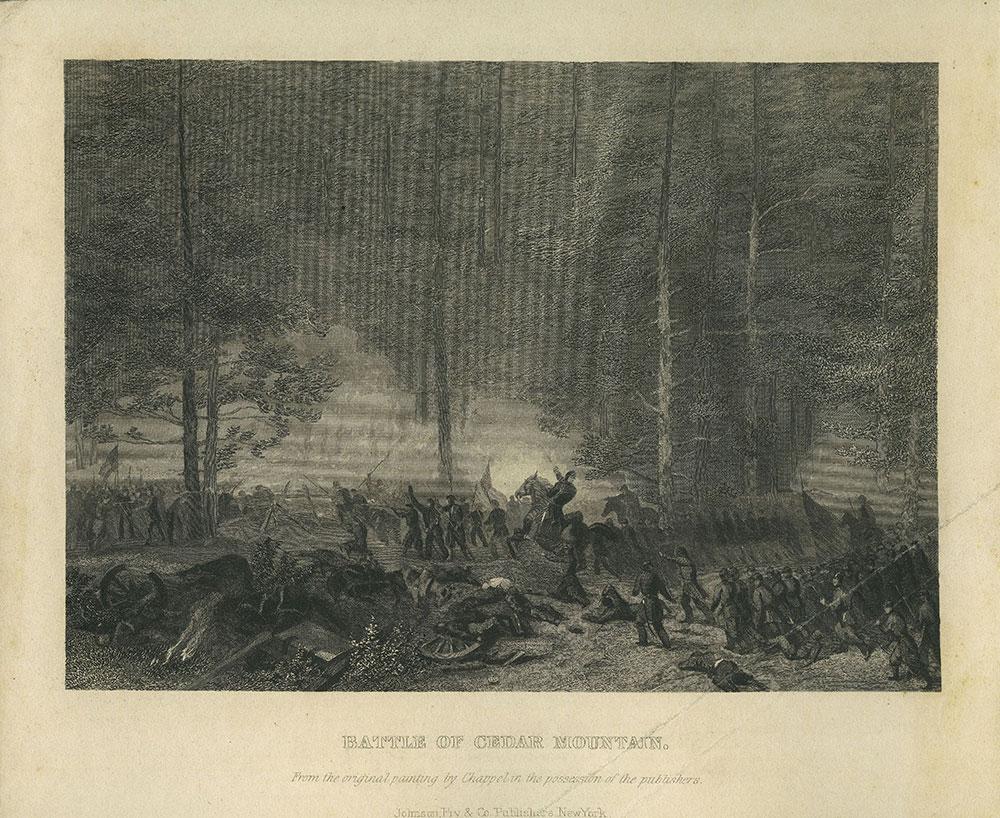 Battle of Cedar Mountain.