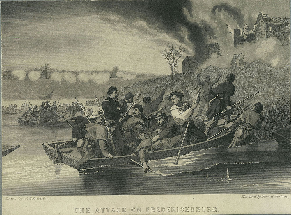 The Attack on Fredericksburg