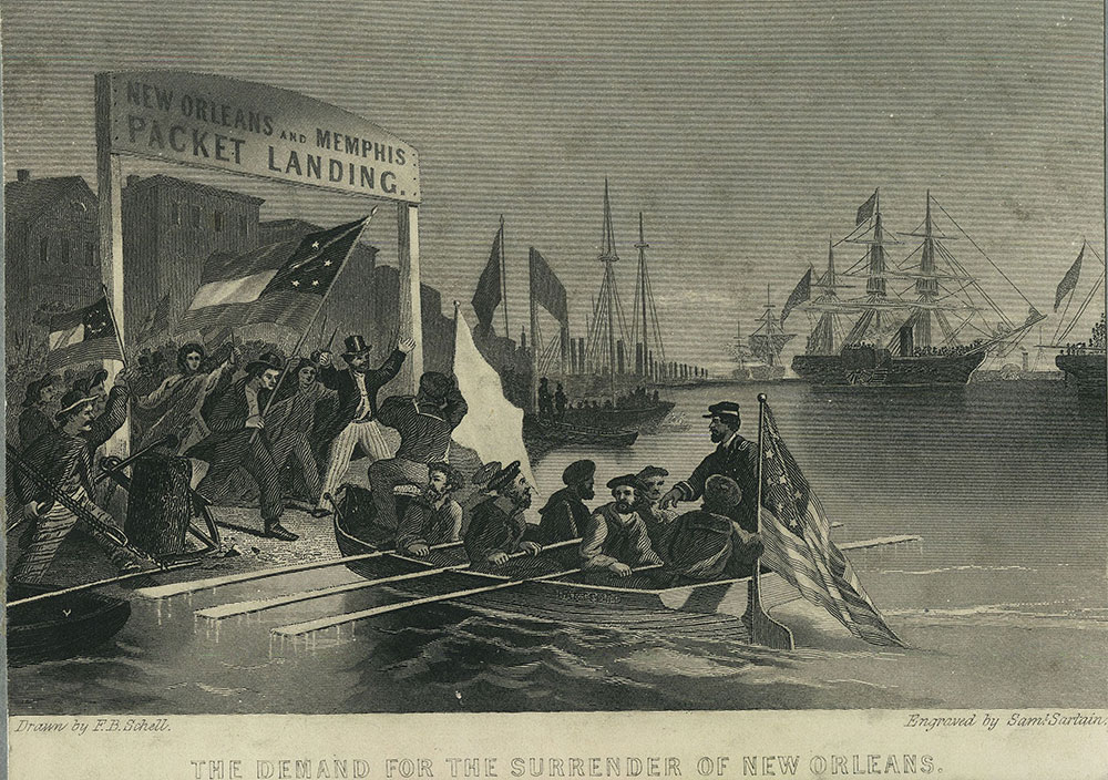 The Demand for the Surrender of New Orleans.