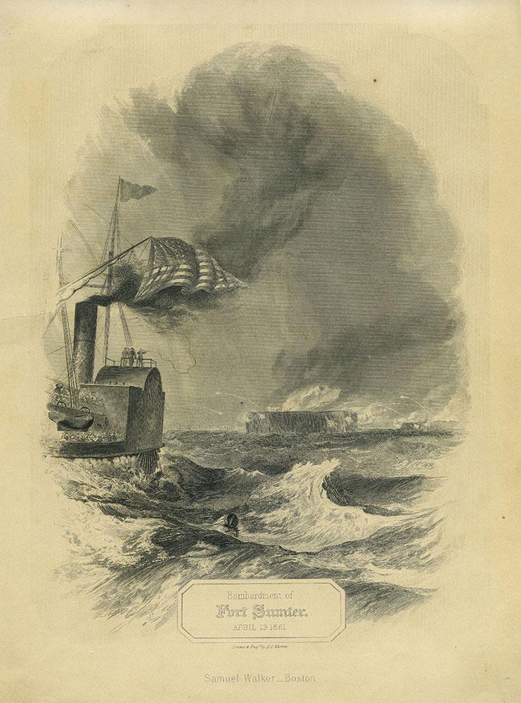 Bombardment of Fort Sumter. April 13, 1861