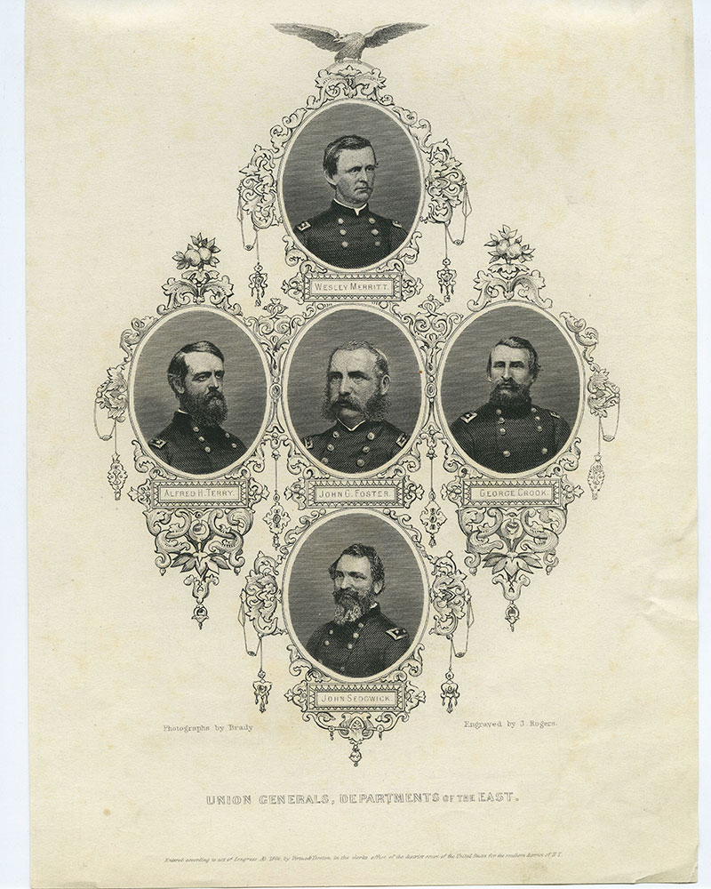 Union Generals, Department of the East.