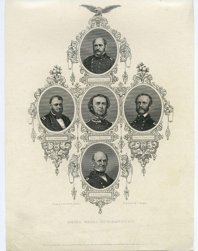 Union Naval Commanders.