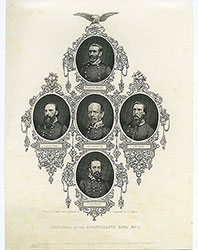 Generals of the Confederate Army. No. 1