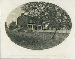 McLean's House at Appomattox in which General Lee Signed the Terms of Surrender