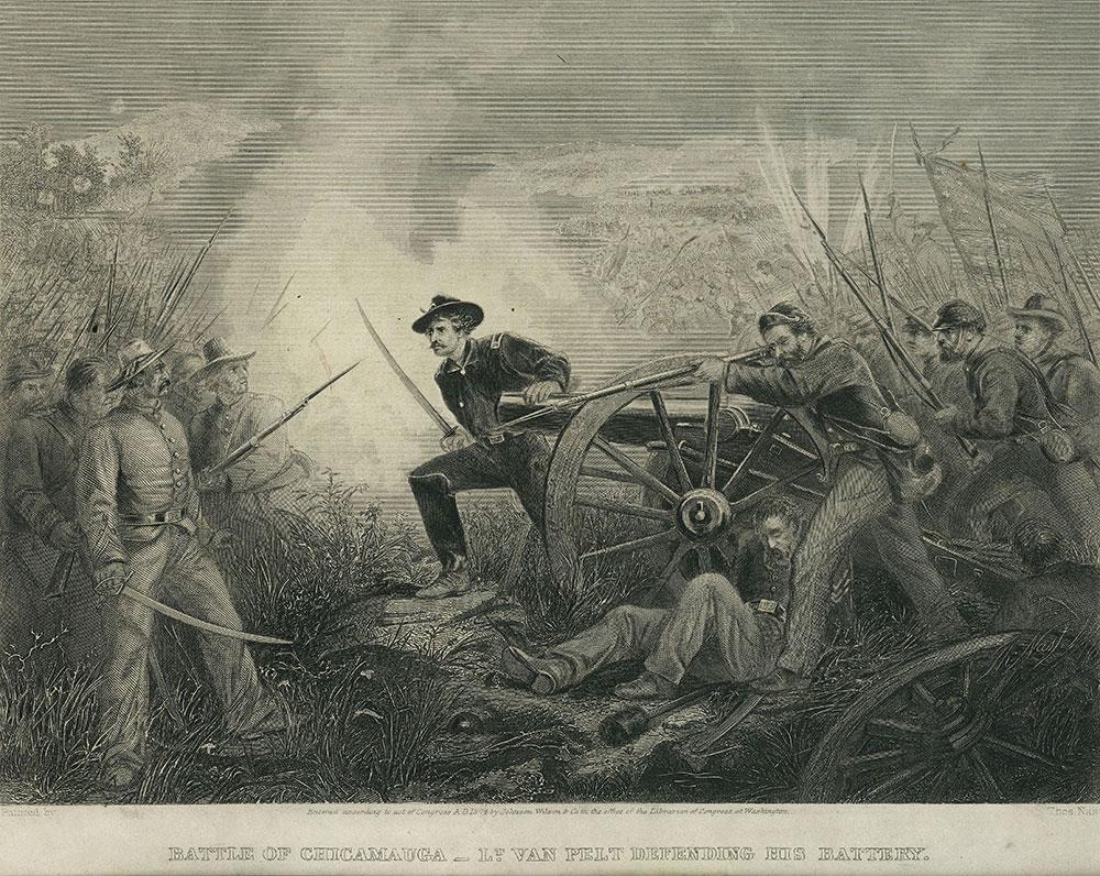 Battle of Chicamauga.