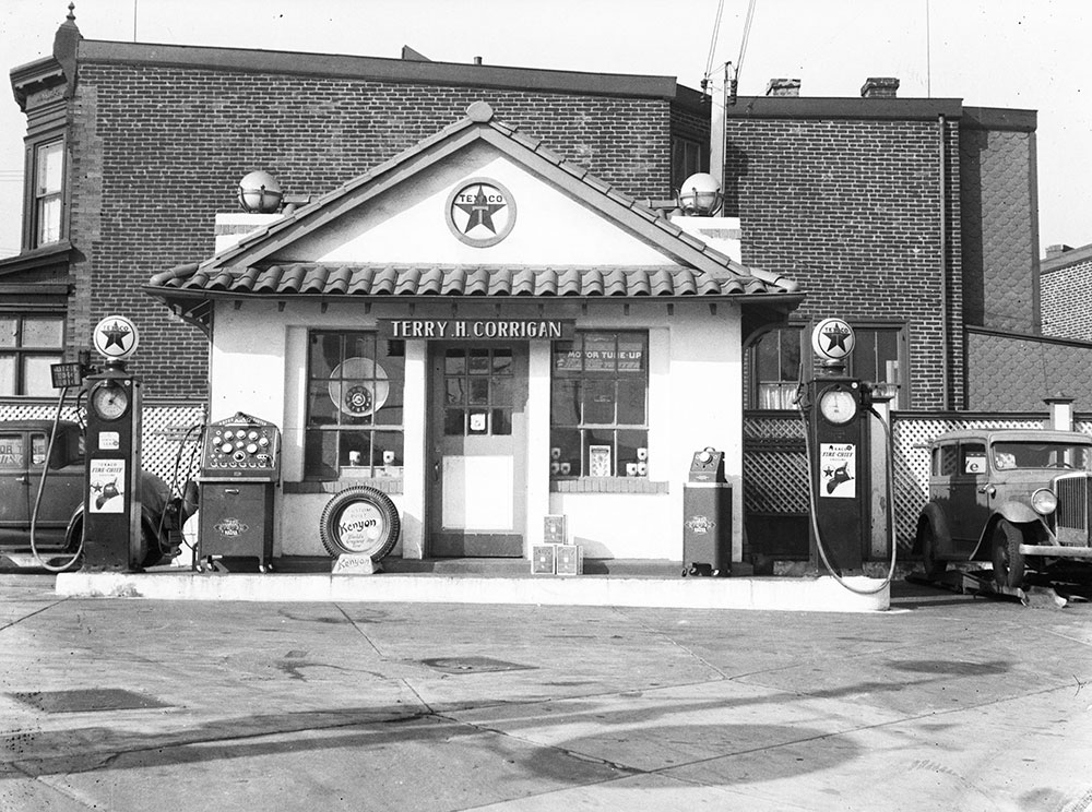 Gas Station 1930's