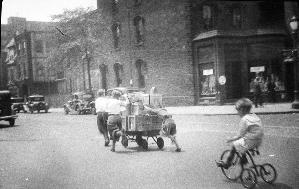 snapshots around Philadelphia, 1930s