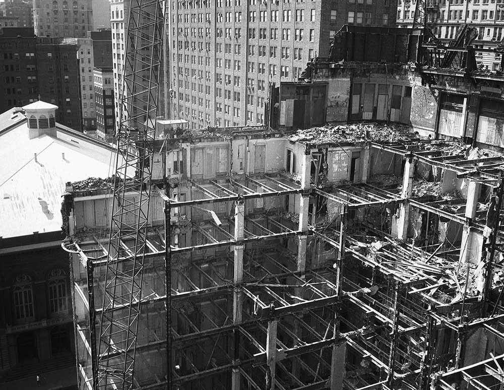 Bartram Hotel, Demolition