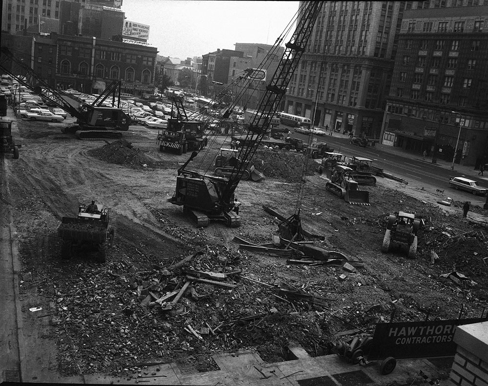 Bartram Hotel, Demolition Site