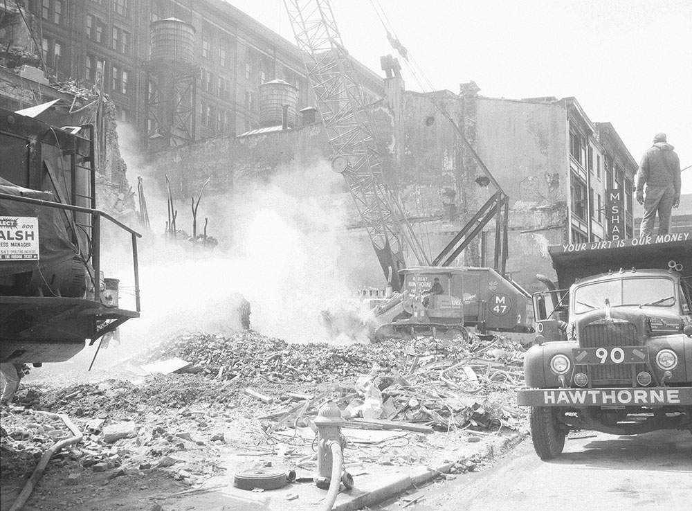 Demolition, 5th & Market