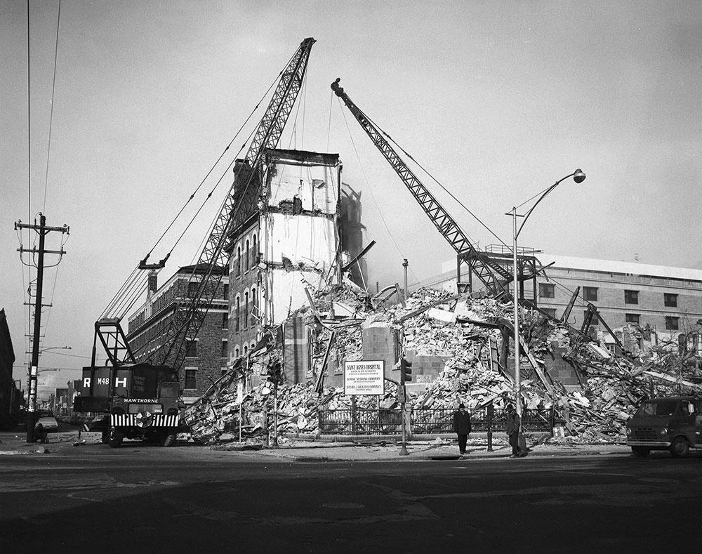 Building Demolition, 4th, 5th, & Market Streets - Digital ...