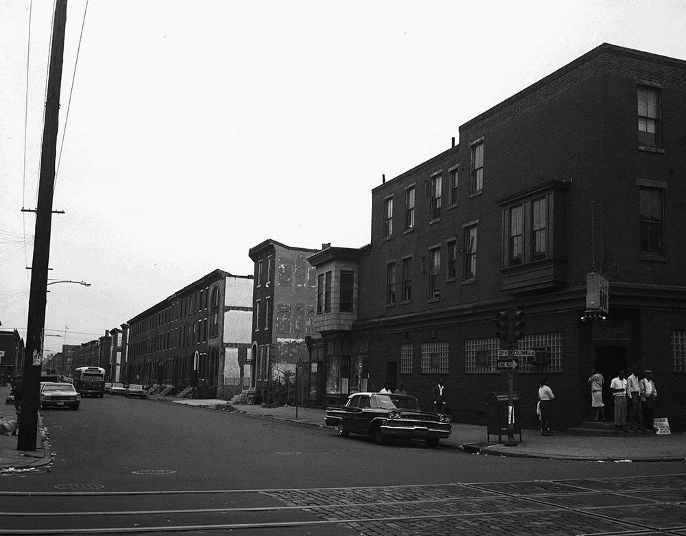 22nd and Columbia, before demolition