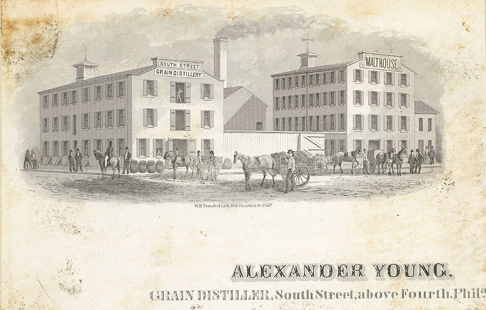 Alexander Young, grain distiller, South Street, above Fourth, Phila. [graphic].