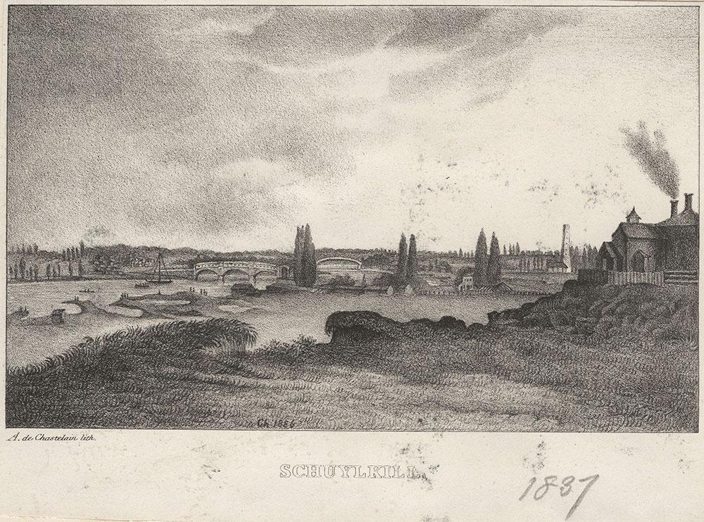 Schuylkill [graphic] / A. De Chastelain, lith.