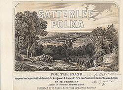 Satterlee Polka for the piano