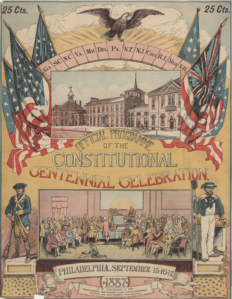 Official Programme of the Constitutional Centennial Celebration.