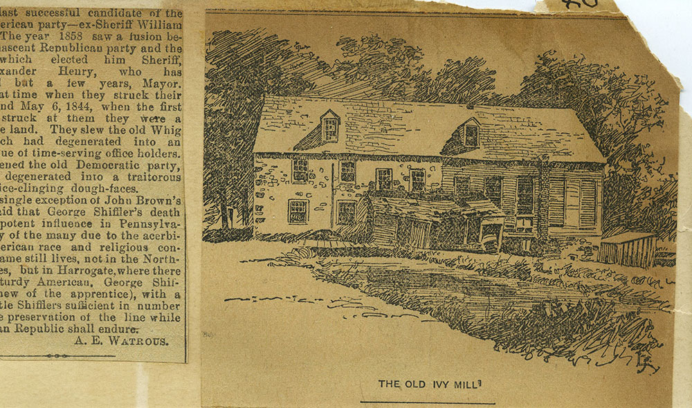 The Old Ivy Mill