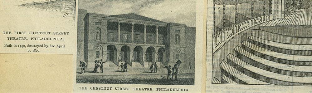 The Chestnut Street Theatre, Philadelphia