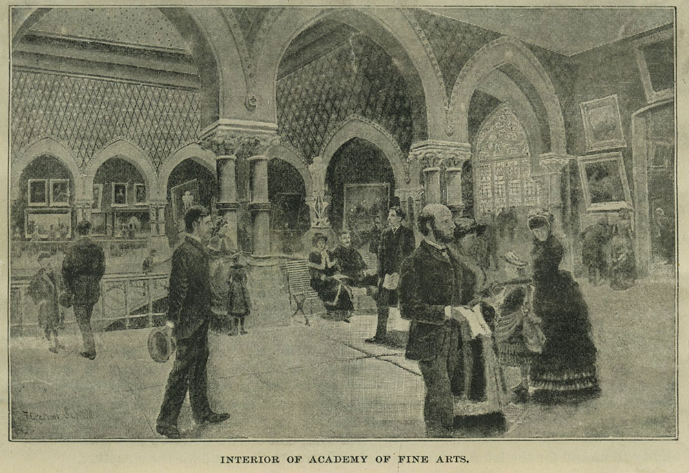 Interior of Academy of Fine Arts