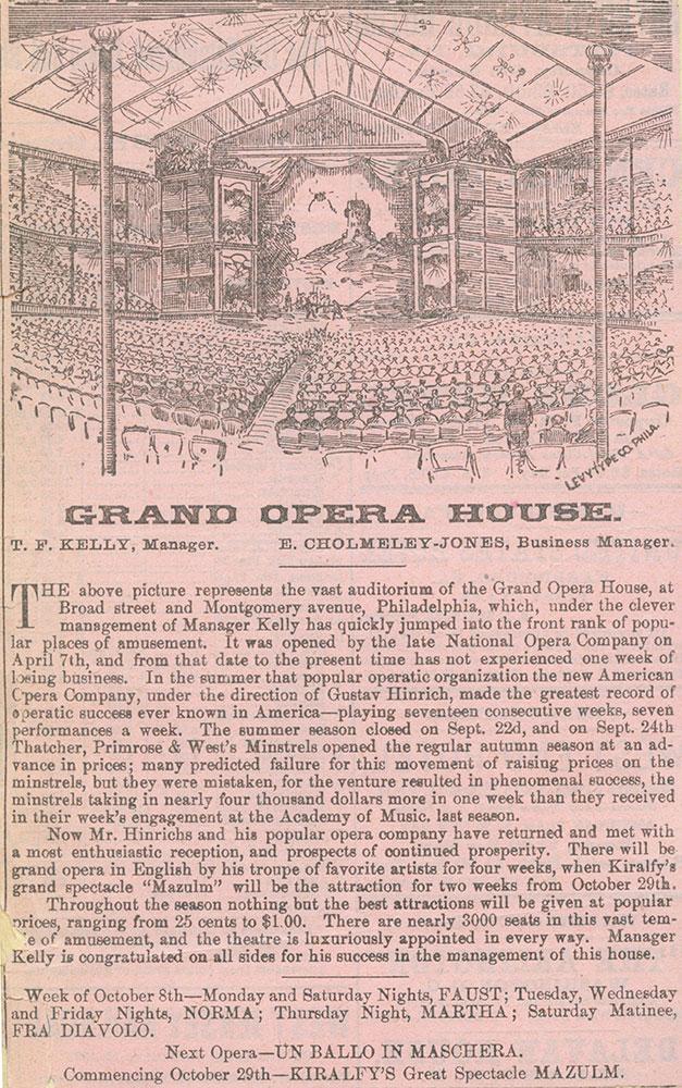 Grand Opera House.