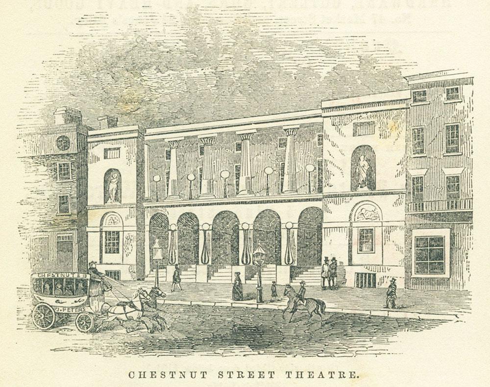 Chestnut Street Theatre.